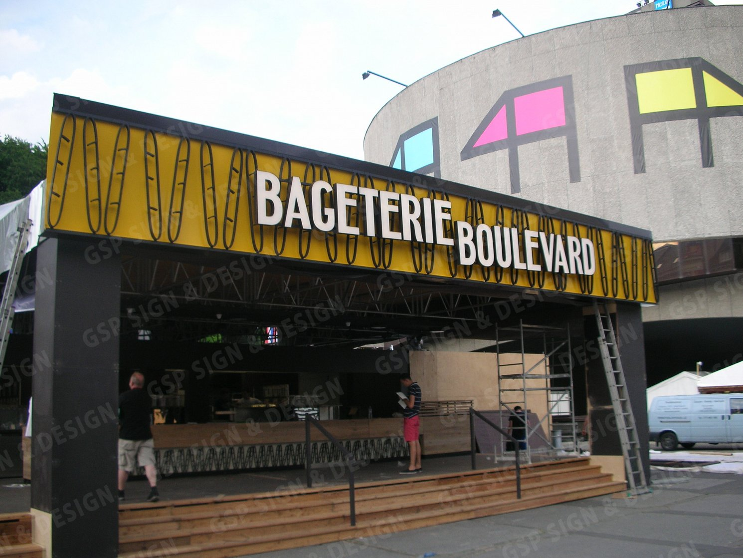 Bageterie Boulevard 2 | Sign Making GSP.cz