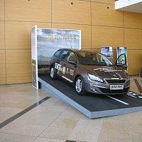 Peugeot - výstavní podium