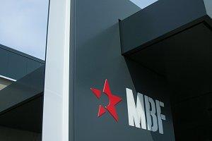 Obklad markýz firmy MBF