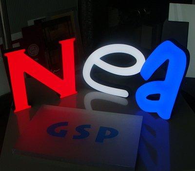 Písmo _ LED masiv