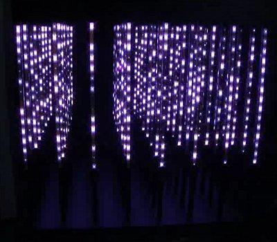 DMX_3D effect RGB LED Cube